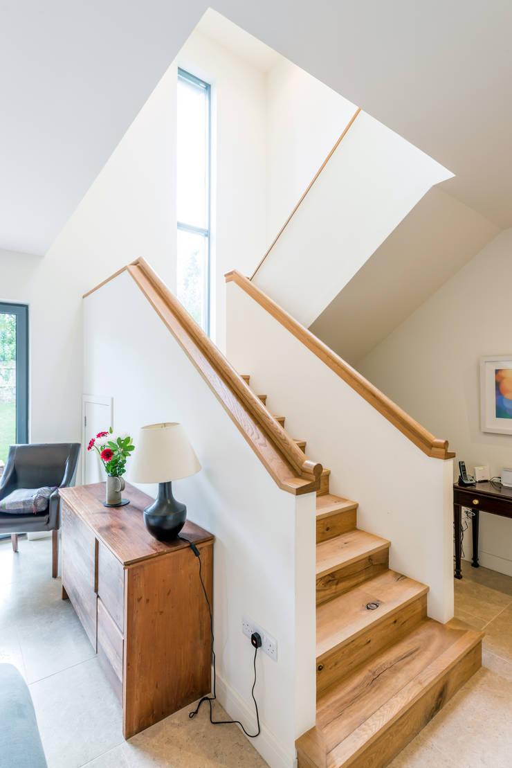 Solid House, North Berwick:  Corridor & hallway by Chris Humphreys Photography Ltd