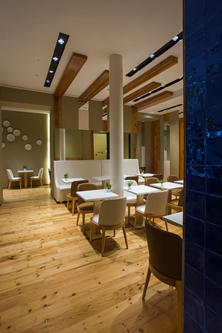RESTAURANTE - JONY RULES HOTEL PORTUGAL LISBOA: Espaços de restauração  por Artica by CSS