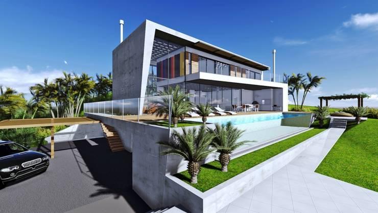 Casa na SC 401: Casas  por Mantovani e Rita Arquitetura