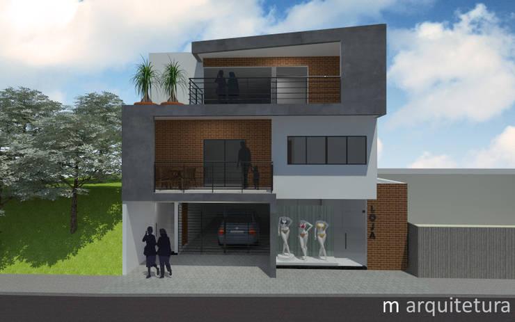 Residência Avenida: Casas modernas por M Arquitetura