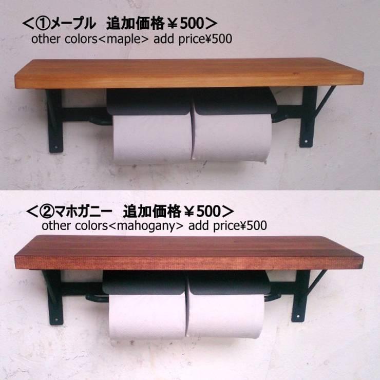 シェルフカラー変更 追加価格¥500: AUOSBRAND Create&Designが手掛けた洗面所&風呂&トイレです。