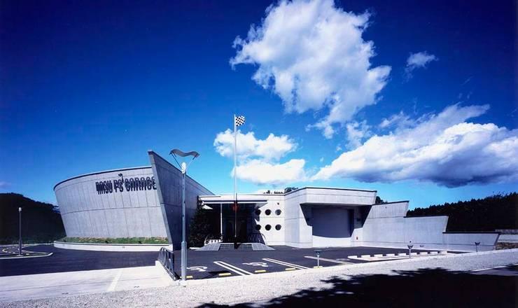 外観: 株式会社 t2・アーキテクトデザイン 一級建築士事務所が手掛けた家です。,