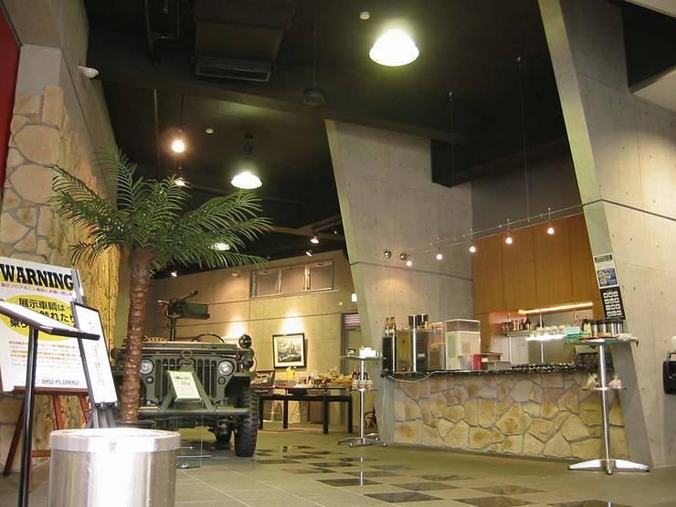 店舗: 株式会社 t2・アーキテクトデザイン 一級建築士事務所が手掛けた和室です。,