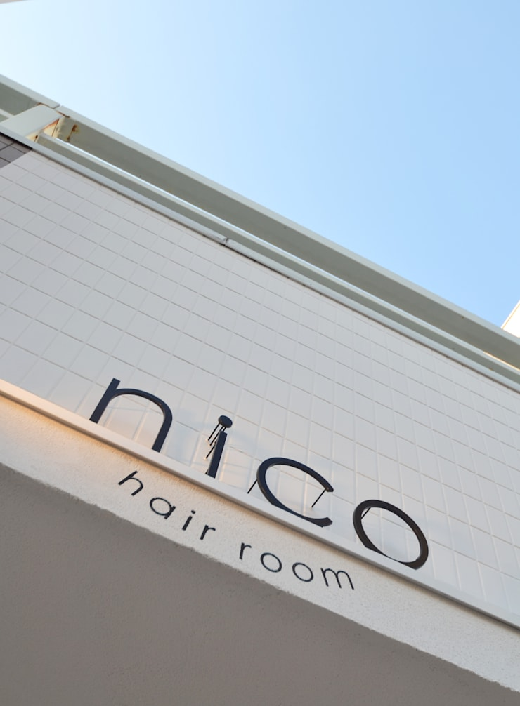 hair room nico: TRANSFORM  株式会社シーエーティが手掛けたオフィススペース&店です。,オリジナル
