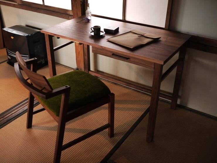 [Desk model6」デスク モデル 6: furniture factory store WEATHER REPORTが手掛けた勉強部屋/オフィスです。,