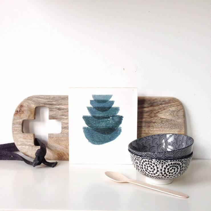 WoodPixels: modern  door Style & Pepper, Modern Hout Hout