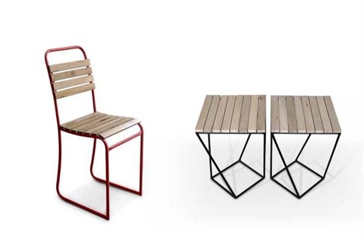 Muebles de hierro: Jardines de estilo  por Artesanos en Hierro