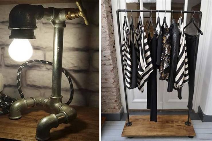 Muebles de hierro: Hogar de estilo  por Artesanos en Hierro