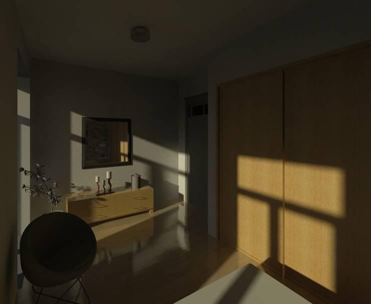 Chambre de style  par Marta d'Alte Arquitetura