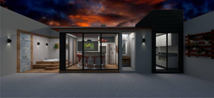 Espaço Gourmet Spa moderno por Aline Falci Arquitetura e Interiores Moderno