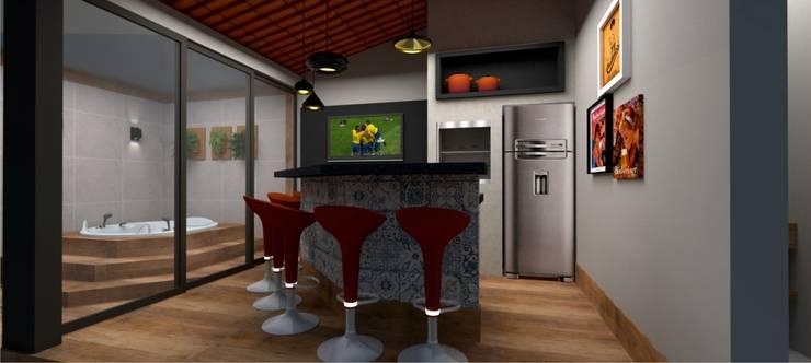منتجع تنفيذ Aline Falci Arquitetura  e Interiores