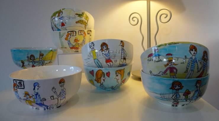 """art de la table """"les Canebière"""": Art de style  par bégé art"""