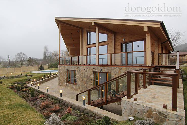 Шале в Крымских горах: Дома в . Автор – Дорогой Дом