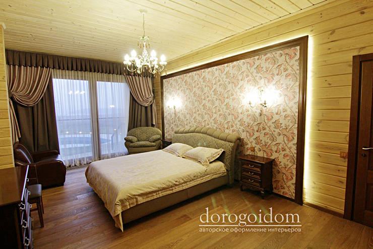 Шале в Крымских горах: Спальни в . Автор – Дорогой Дом