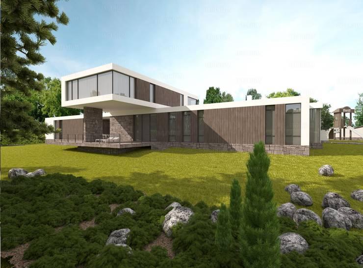 Proyecto casa UI:  de estilo  por Grupo GM