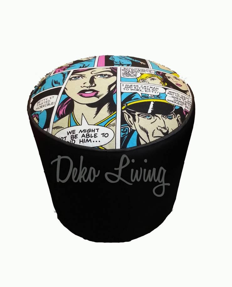 Puff, mesas, bauleras: Livings de estilo  por Deko Living