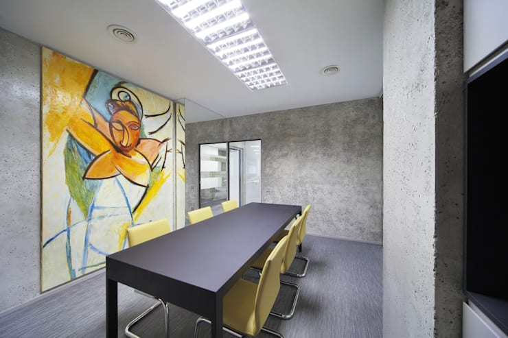 Study/office by Arquitectos Suarez