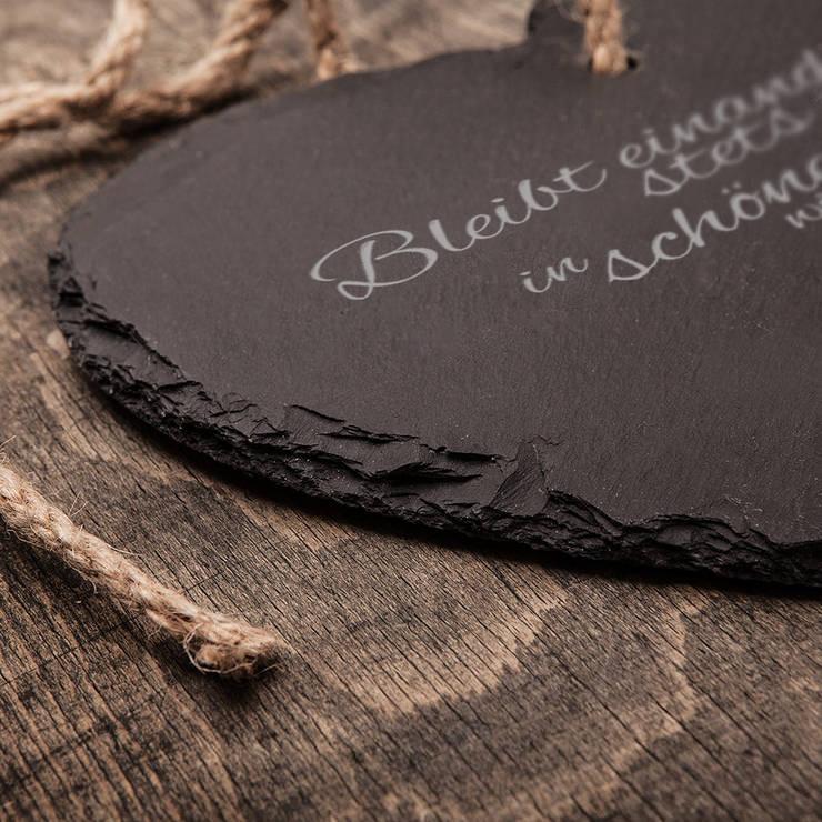 Schieferherz Zur Hochzeit Von Gravado Lpz Handelsgesellschaft Mbh