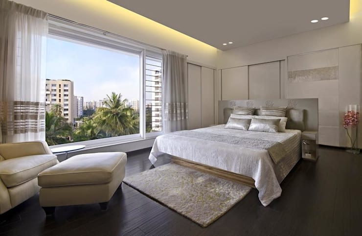 Residence: modern Bedroom by Archtype
