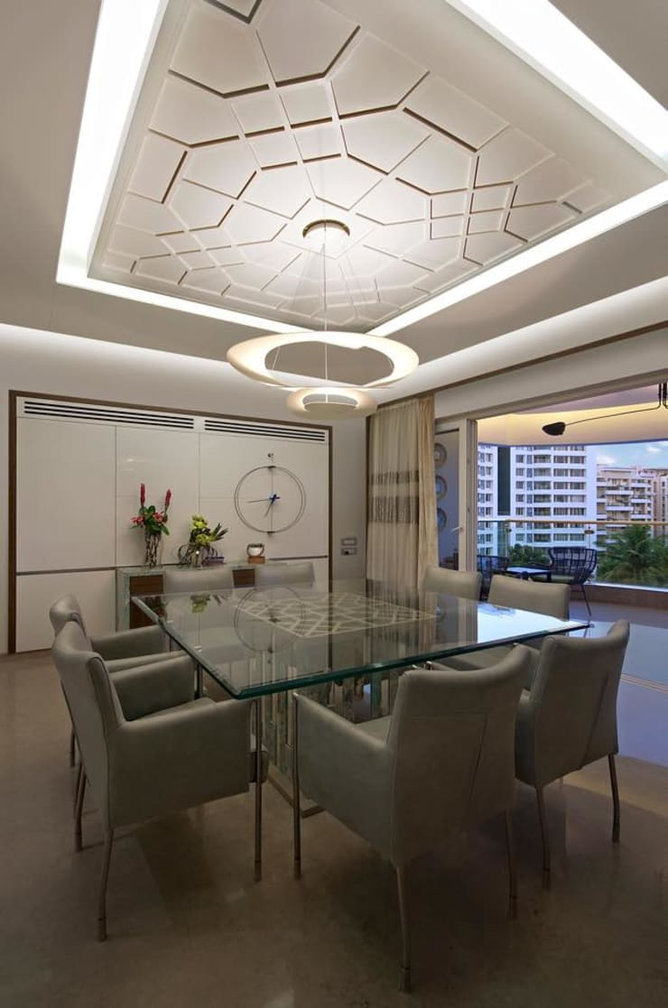 Residence:  Dining room by Archtype