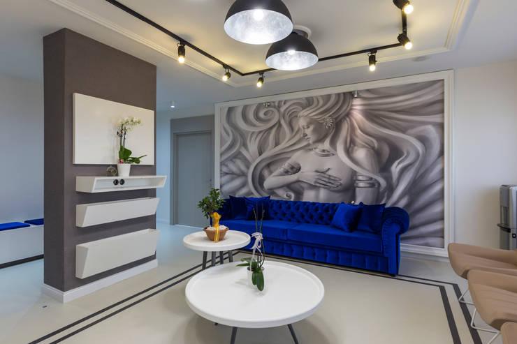 Mimoza Mimarlık – BEKLEME ALANI:  tarz Klinikler