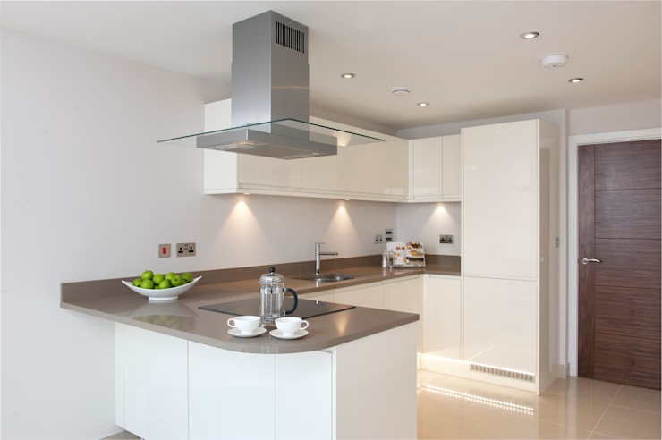 Oyster Reach Modern style kitchen by Lee Evans Partnership Modern