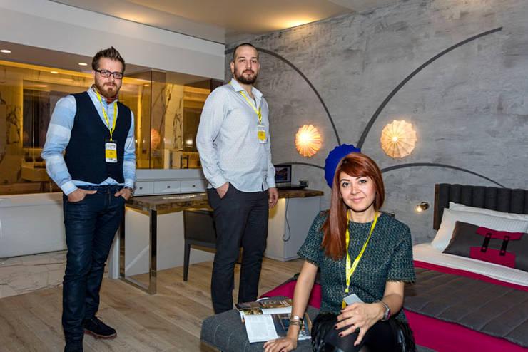 Mimoza Mimarlık – HOTEL DESIGN SHOW:  tarz Oteller, Modern