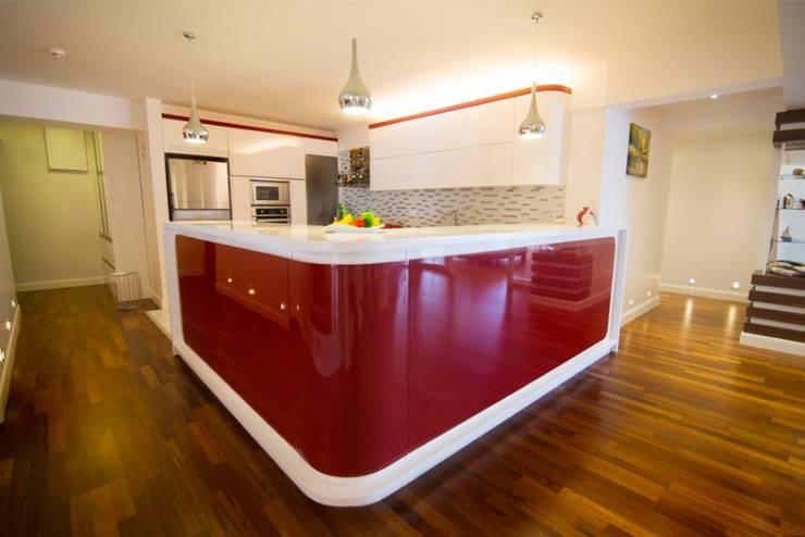 Projekty,  Kuchnia zaprojektowane przez BAGO MİMARLIK