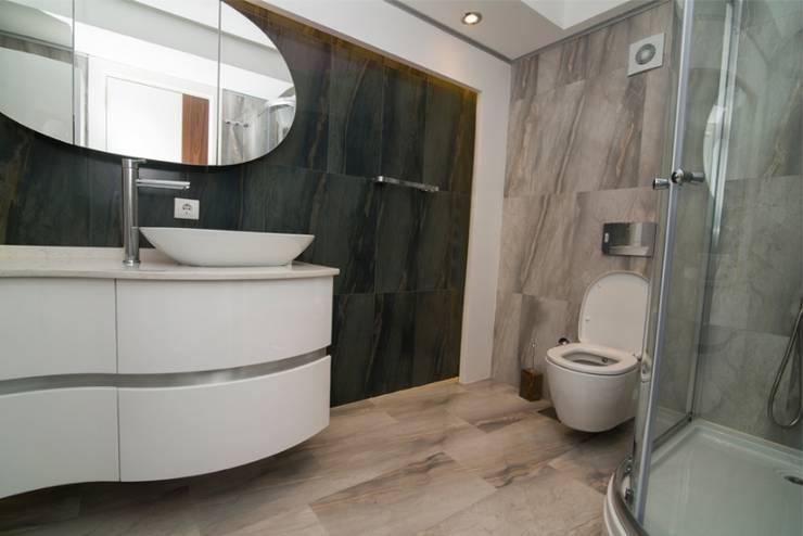 BAGO MİMARLIK  – Aksoy Residence:  tarz Banyo