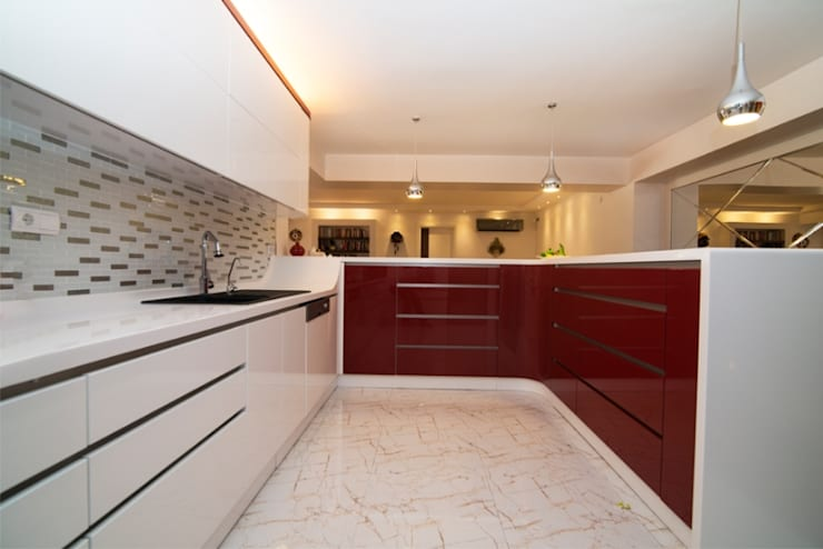 BAGO MİMARLIK  – Aksoy Residence:  tarz Mutfak