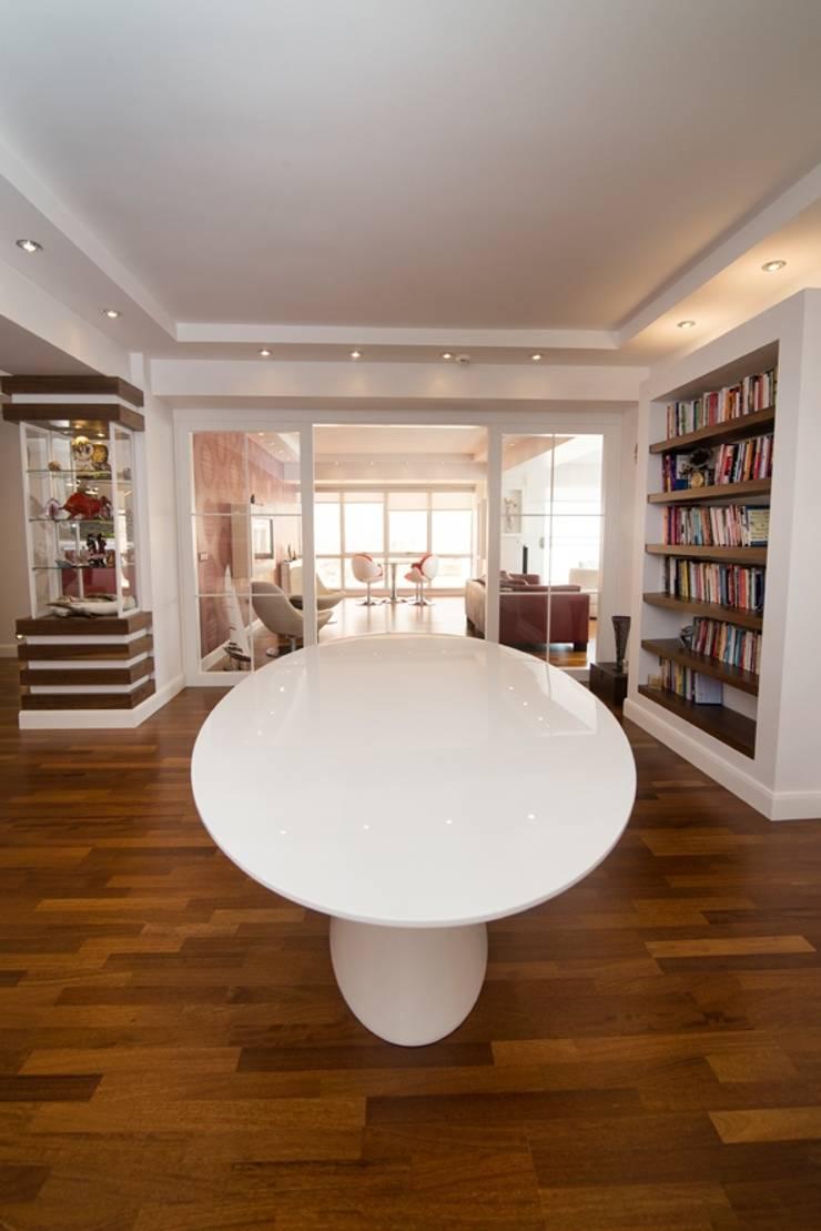 BAGO MİMARLIK  – Aksoy Residence:  tarz Çalışma Odası