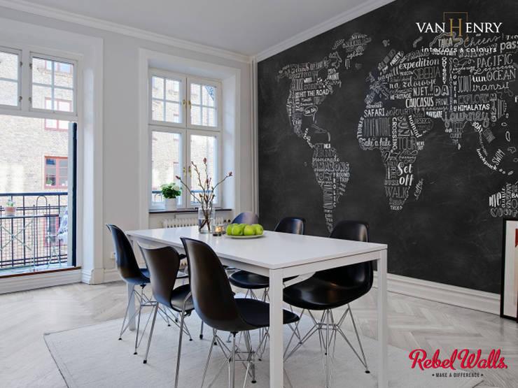 Paredes  por vanHenry interiors & colours