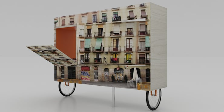 MUEBLE DE ENTRETENIMIENTO: Estudio de estilo  por santiago dussan architecture & Interior design