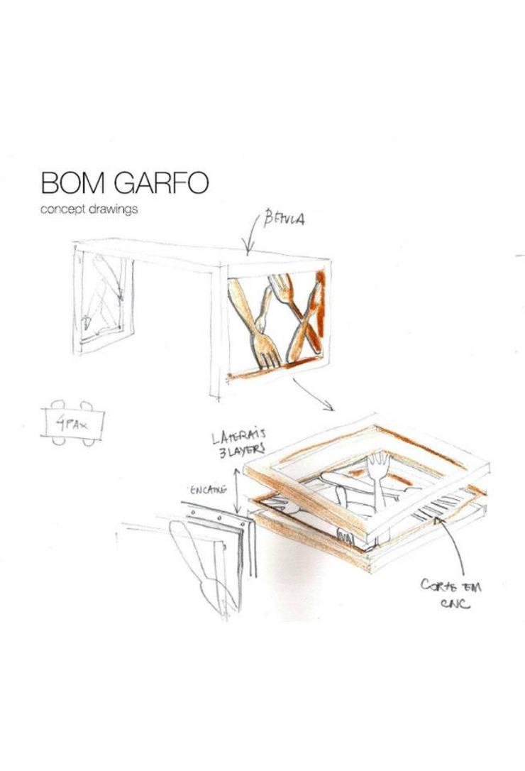 Portfólio: Casa  por BLEACH DESIGN