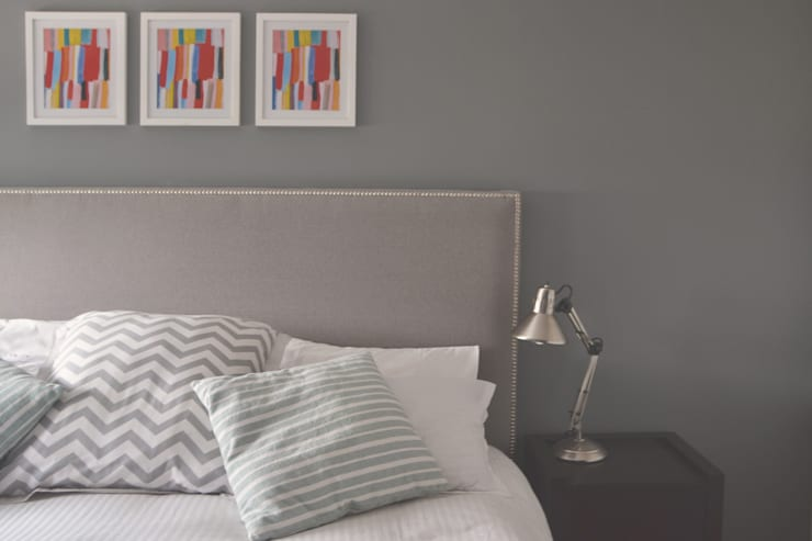 Dormitorios de estilo  por CuboB Arquitectura de Interiores
