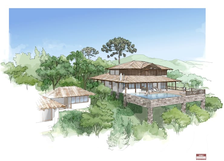 Opção 02: Casas  por MADUEÑO ARQUITETURA & ENGENHARIA