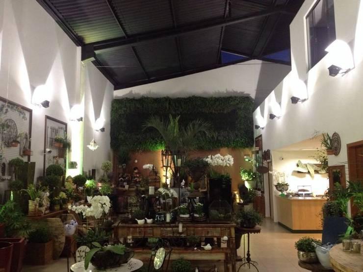 Baranoski Casa & Jardim: Lojas e imóveis comerciais  por Penha Alba Arquitetura e Interiores