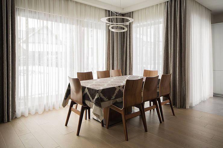 wnętrza: styl , w kategorii Jadalnia zaprojektowany przez STUDIO ROGACKI