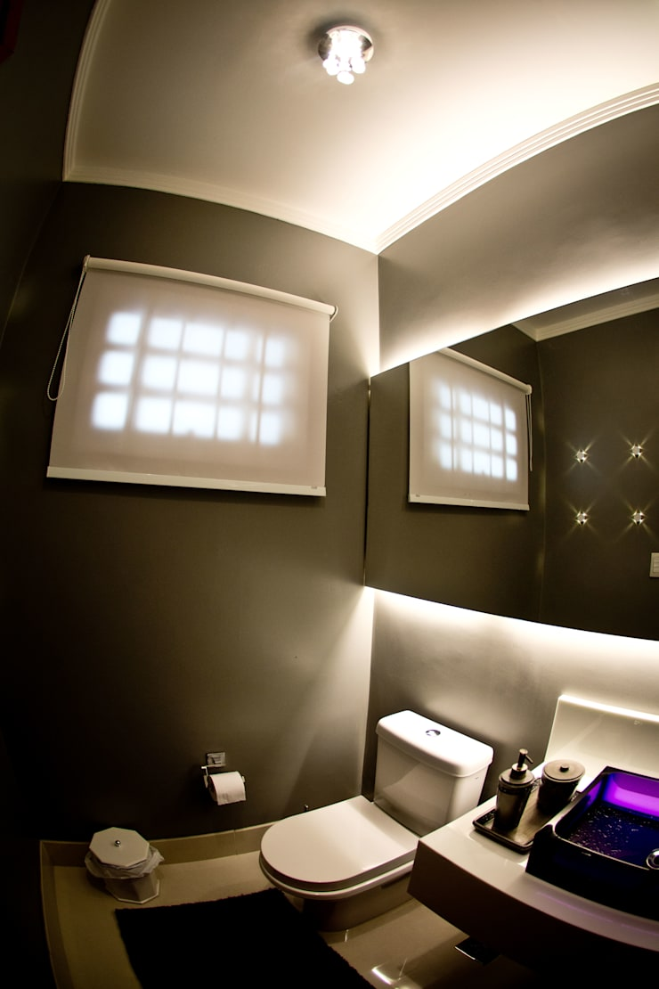 Lavabo: Banheiros  por INOVA Arquitetura