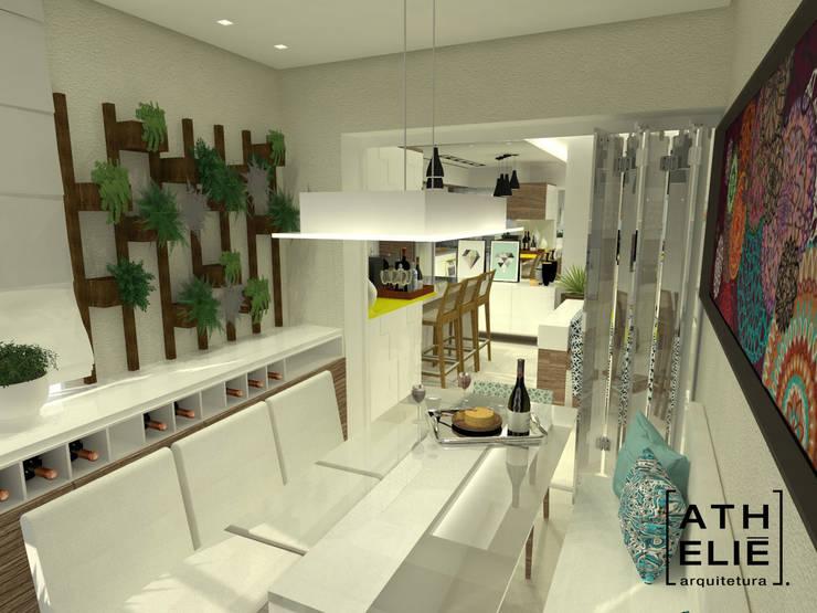 Sala de Jantar : Salas de jantar  por ATHeliê Arquitetura