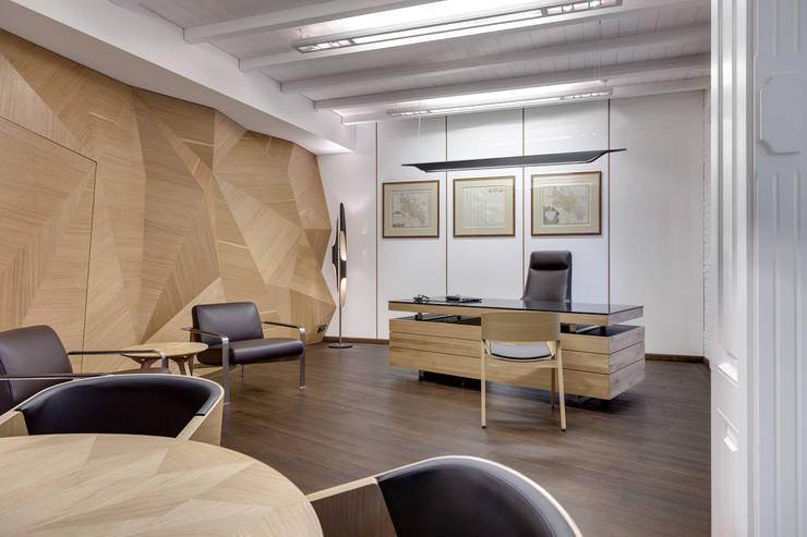 KSSE BIURA: styl , w kategorii Biurowce zaprojektowany przez BRANDYS DESIGN