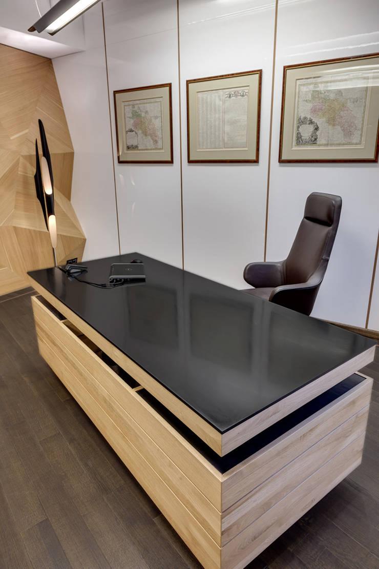 KSSE BIURA: styl , w kategorii Biurowce zaprojektowany przez BRANDYS DESIGN,Nowoczesny