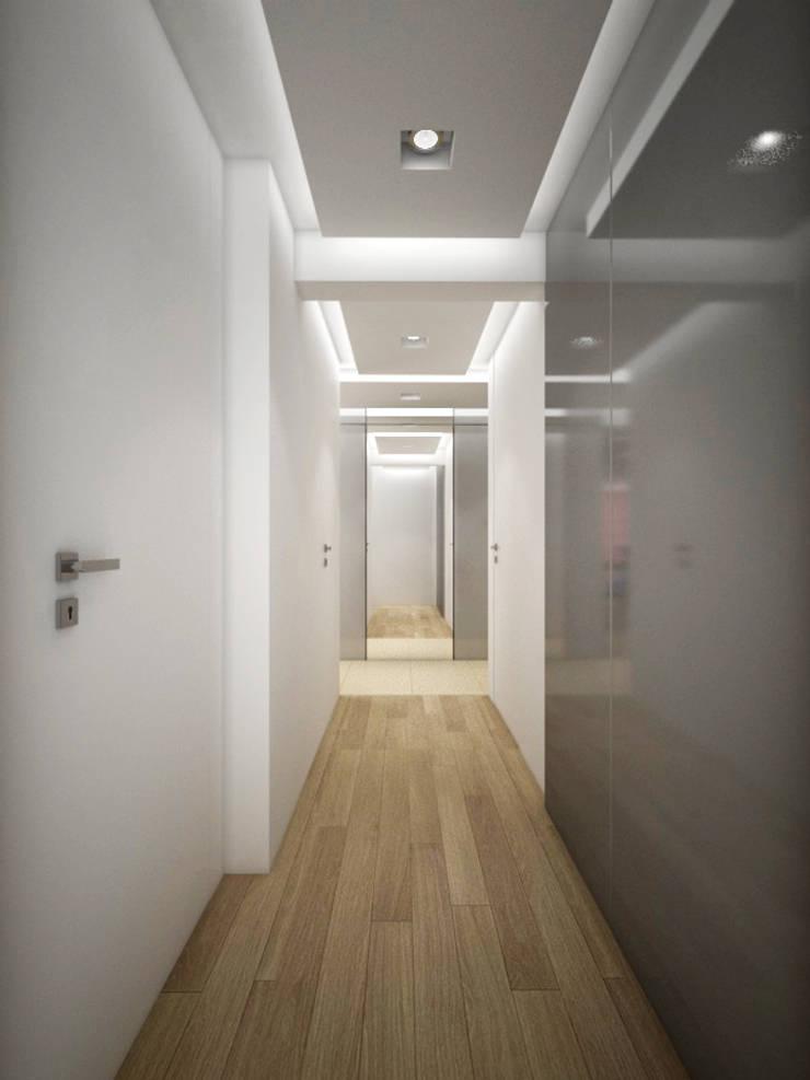 Apartament, pow. 95 m2, Waterlane: styl , w kategorii Salon zaprojektowany przez 3miasto design,Eklektyczny