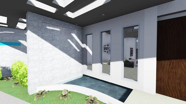 Casa Francesa:  de estilo  por H&H Arquitectos