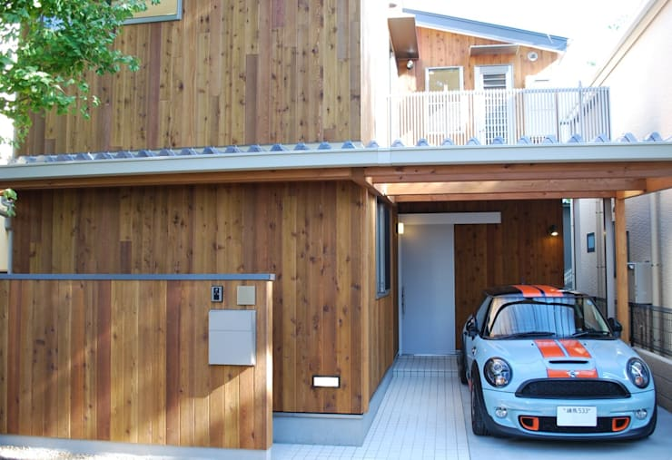 小豆沢の家: 奥村召司+空間設計社が手掛けた家です。,