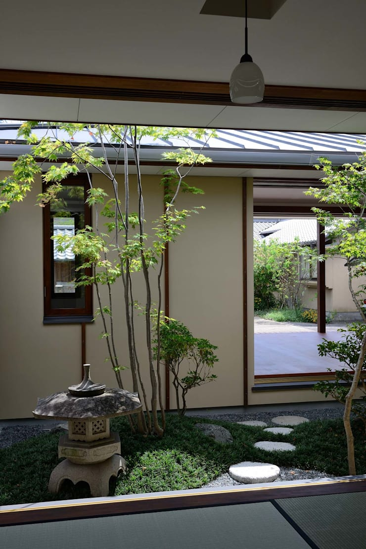 FURUKAWA House: 澤村昌彦建築設計事務所が手掛けた庭です。