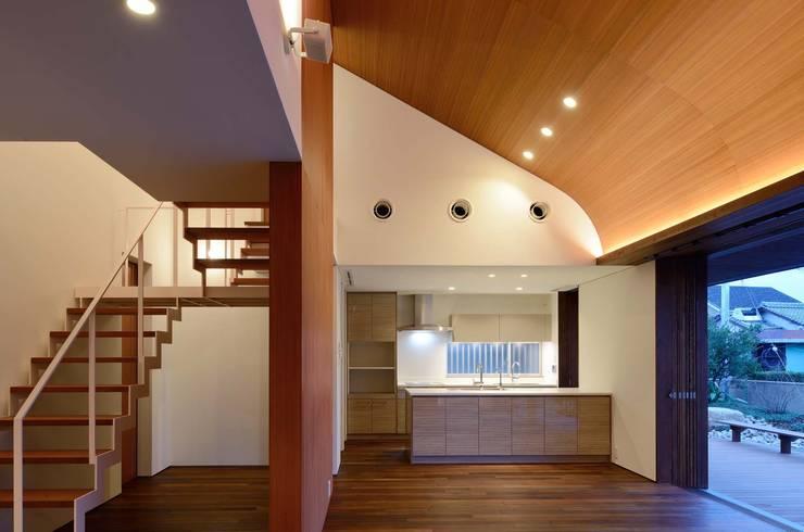 Dining room by 澤村昌彦建築設計事務所
