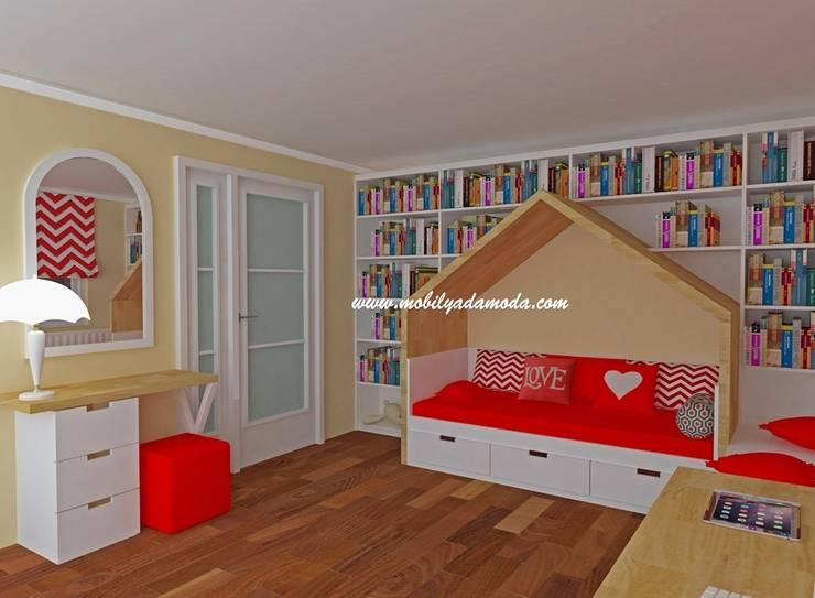 MOBİLYADA MODA  – Çatı Katı Genç Kız Odası:  tarz