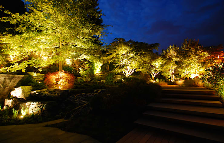 Lustenberger Schelling Landschaftsarchitektur:  tarz Bahçe