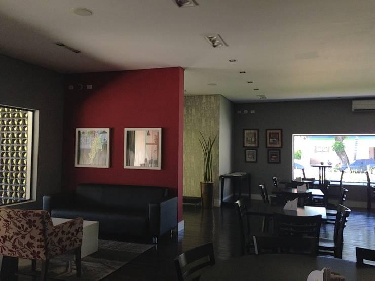 Restaurante Jardim: Espaços gastronômicos  por ANALU ANDRADE - ARQUITETURA E DESIGN,